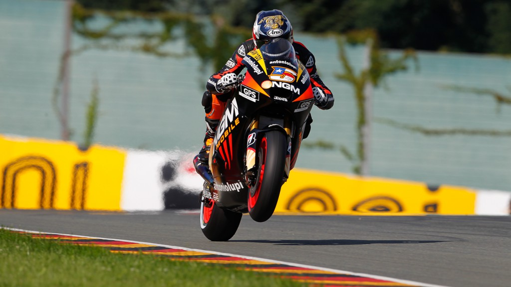 Colin Edwards, NGM Mobile Forward Racing, Sachsenring RAC