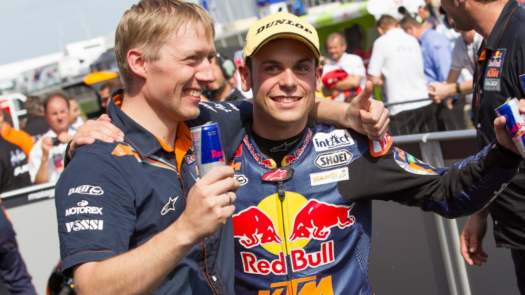 Sandro Cortese, Red Bull KTM Ajo, Sachsenring RAC