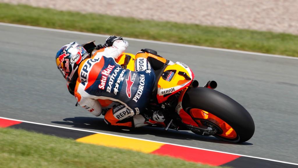 Dani Pedrosa, Repsol Honda Team, Sachsenring RAC