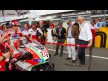 Rupert Stadler, Audi AG Chairman and Gabriele del Torchio, Ducati CEO on the grid at the Sachsenring