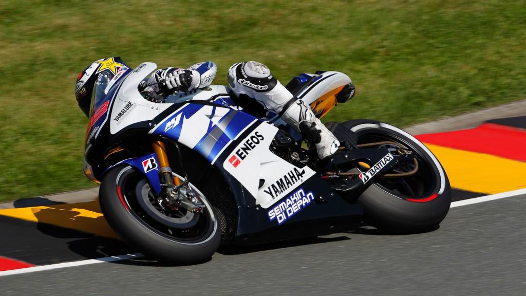 Jorge Lorenzo, Yamaha Factory Racing, Sachsenring RAC