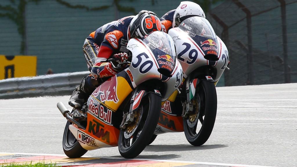 Lukas Trautman, Stefano Manzi, Red Bull MotoGP Cup