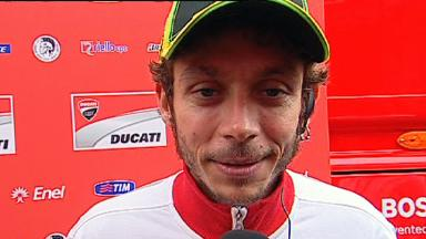 Rossi on future prospects at Ducati with Audi involvement