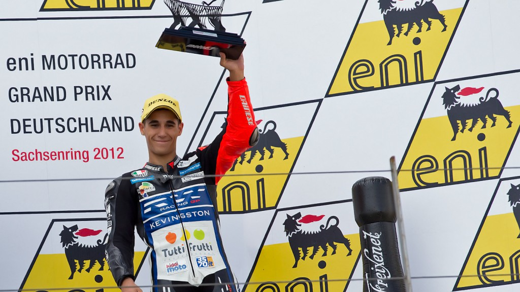 Luis Salom, RW Racing GP, Sachsenring RAC