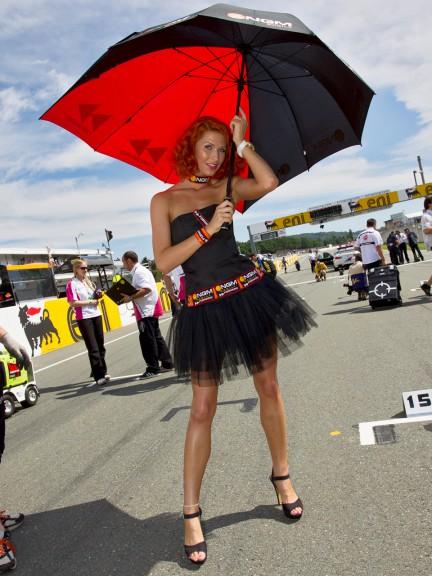 Paddock Girl, eni Motorrad Grand Prix Deutschland