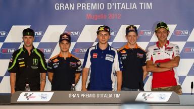 Gran Premio D`Italia TIM Press Conference