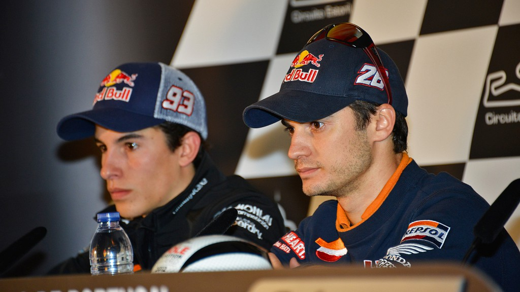 Marquez, Pedrosa, Team CatalunyaCaixa Repsol, Repsol Honda Team