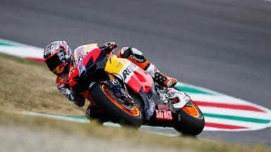 Casey Stoner, Repsol Honda Team, Mugello FP2