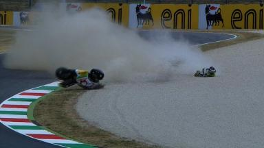 Mugello 2012 - MotoGP - FP2 - Hector Barbera - Crash
