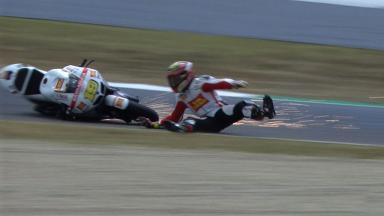 Mugello 2012 - MotoGP - FP2 - Alvaro Bautista - Crash