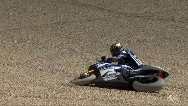 Mugello 2012 - MotoGP - FP2 - Jorge Lorenzo - Crash