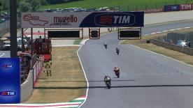 Under sunny yet windy conditions it was Yamaha Factory Racing's Jorge Lorenzo who laid down the marker for the weekend at the Gran Premio d'Italia TIM at Mugello, setting the fastest time of the day in the afternoon session ahead of Dani Pedrosa and Nicky Hayden.