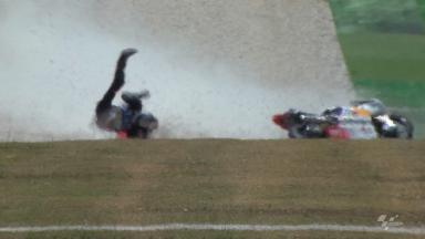Mugello 2012 - Moto3 - FP2 - Luis Salom - Crash