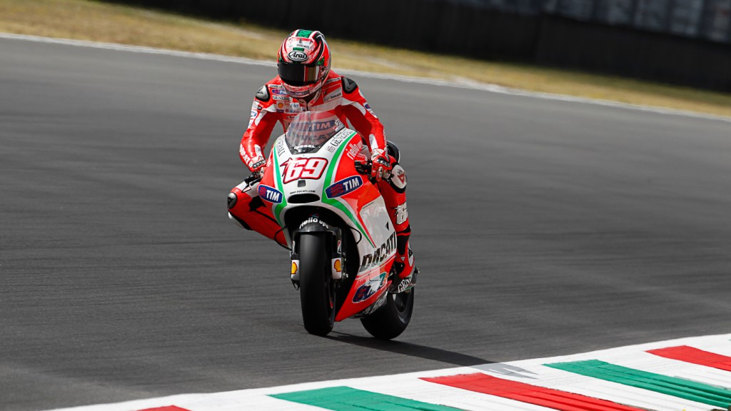 Nicky Hayden, Ducati Team, Mugello FP1