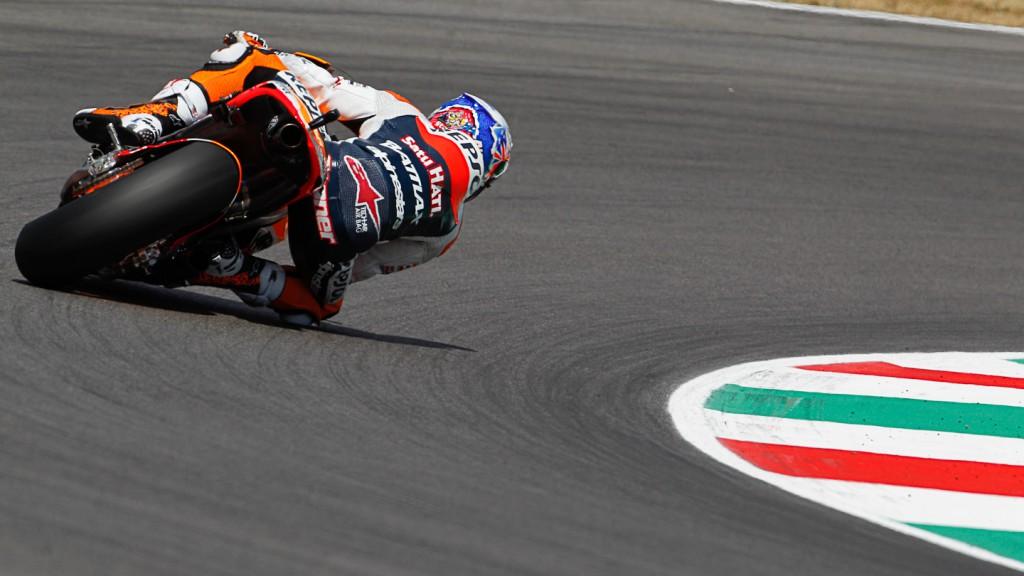 Casey Stoner, Repsol Honda, Mugello FP3