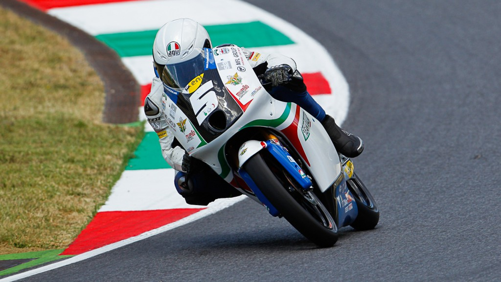 Romano Fenati, Team Italia FMI, Mugello QP