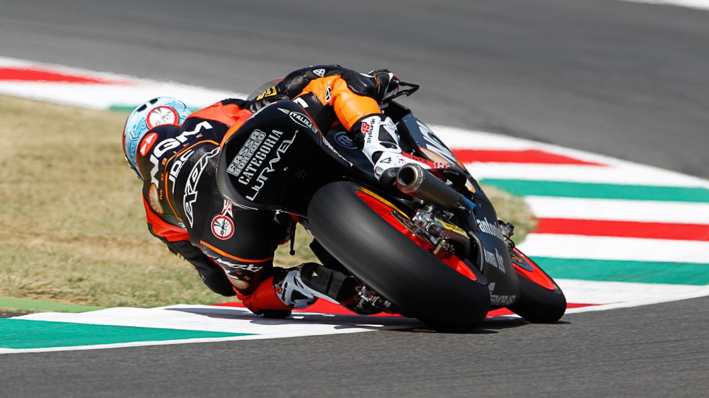 Alex de Angelis, NGM Mobile Forward Racing, Mugello QP