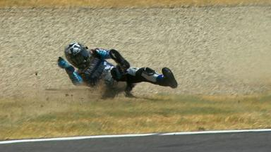 Mugello 2012 - MotoGP - QP - Action - Ben Spies - Crash