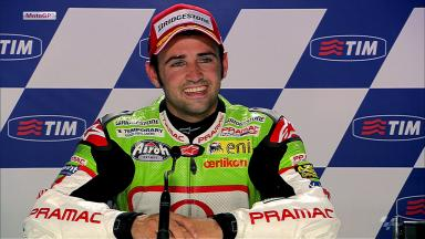 Mugello 2012 - MotoGP - QP - Interview - Hector Barbera