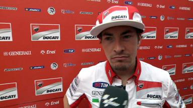 Hayden pleased for Ducati