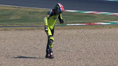 Mugello 2012 - Moto2 - QP - Action - Bradley Smith - Crash