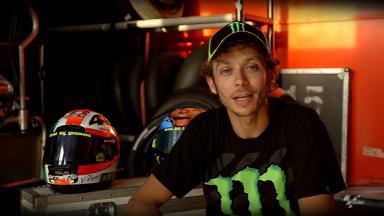 Rossi's Mugello Helmet Story