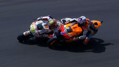 Mugello 2012 - MotoGP -Race - Action - Stoner and Bautista