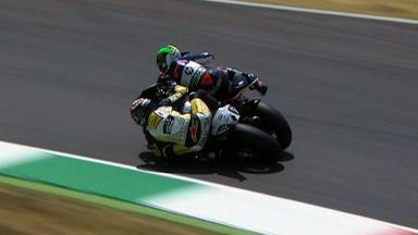 Mugello 2012 - Moto2 -Race - Action - Luthi and Espargaro