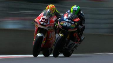 Mugello 2012 - Moto2 -Race - Action - Race winning overtake