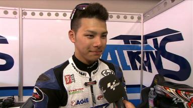 Mugello 2012 - Moto2 - Race - Interview - Takaaki Nakagami