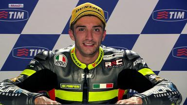 Mugello 2012 - Moto2 - Race - Interview - Andrea Iannone