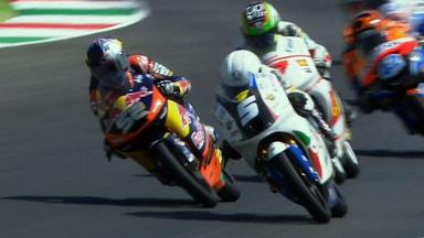 Mugello 2012 - Moto3 -Race - Action - Fenati and Kent
