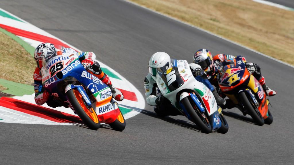 Viñales, Fenati, Cortese, Blusens Avintia, Tetam Italia FMI, Red Bull KTM Ajo, Moto3 RAC