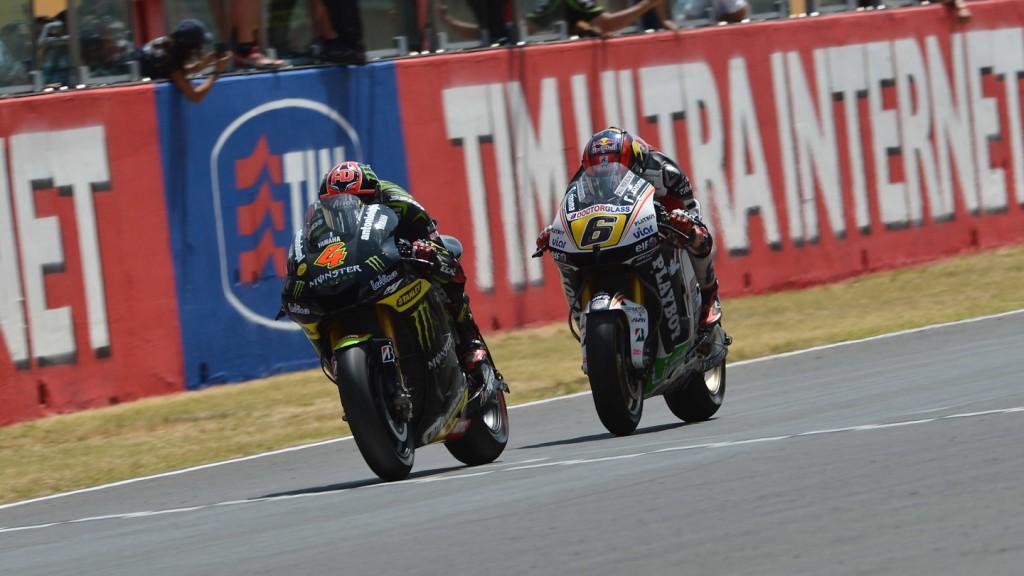 Andrea Dovizioso, Stefan Bradl, Monster Yamaha Tech 3, LCR Honda MotoGP, Mugello RAC