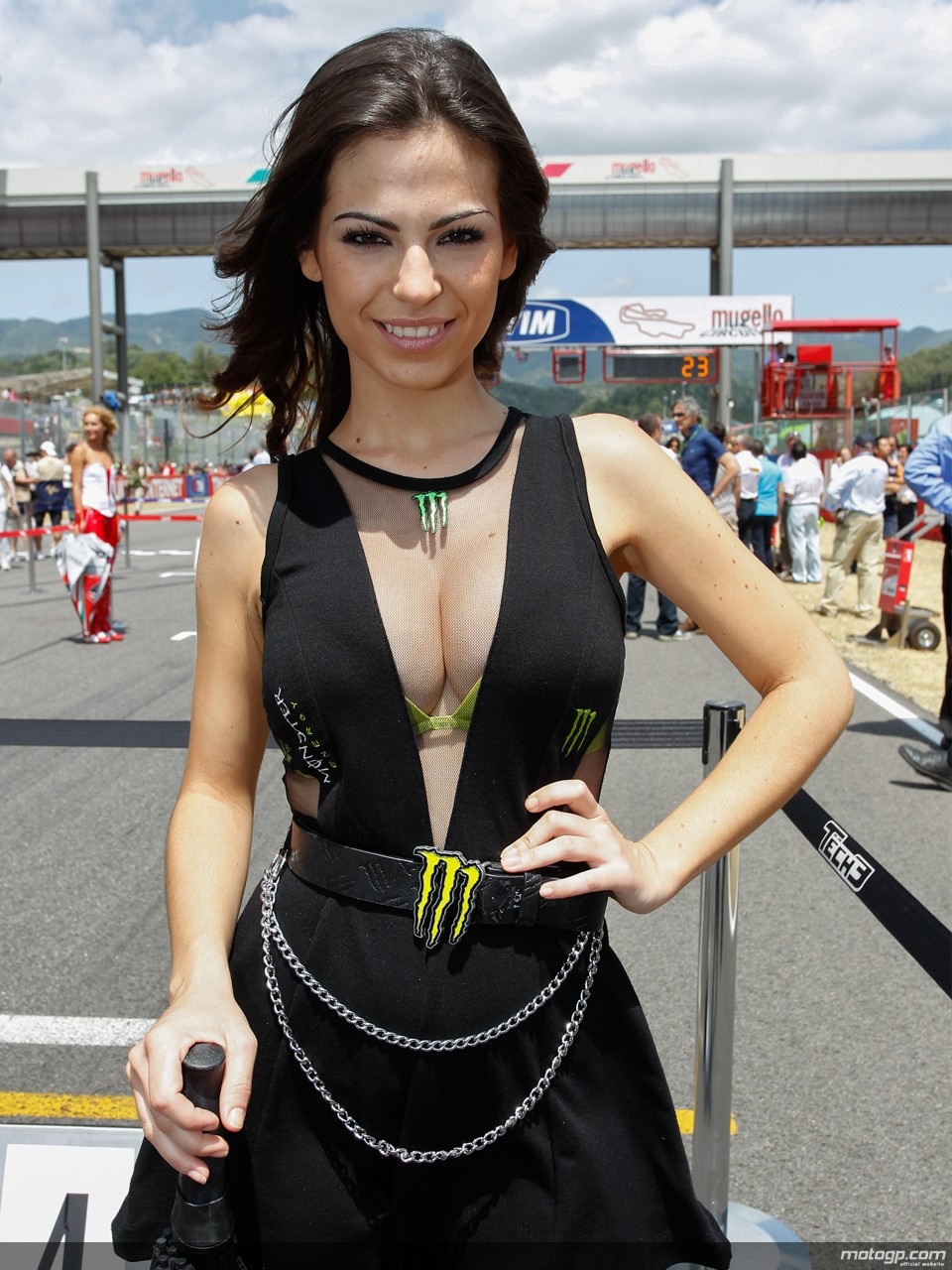 Photos des paddock girls