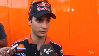 Pedrosa quick despite crash