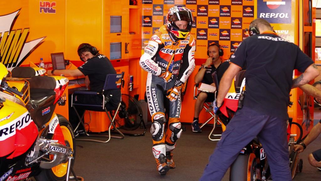 Casey Stoner, Repsol Honda Team, Mugello Test