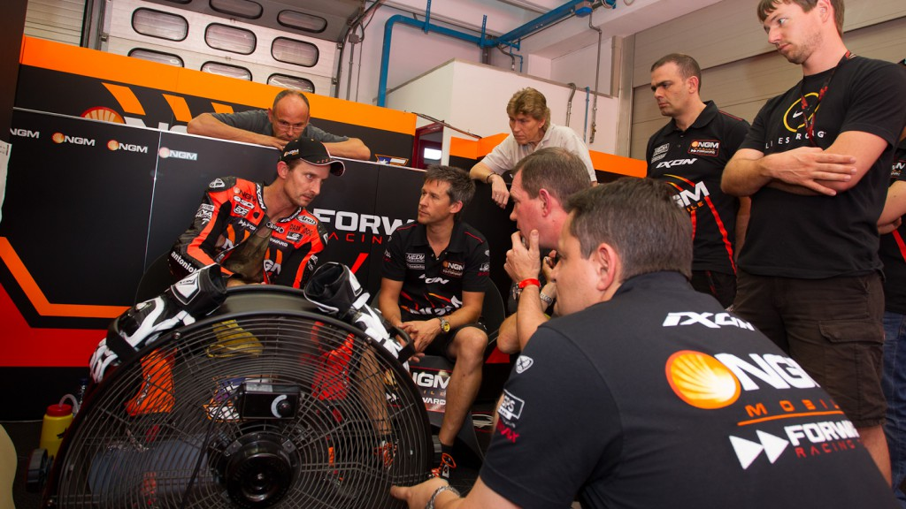Colin Edwards, NGM Mobile Forward Racing, Mugello Test