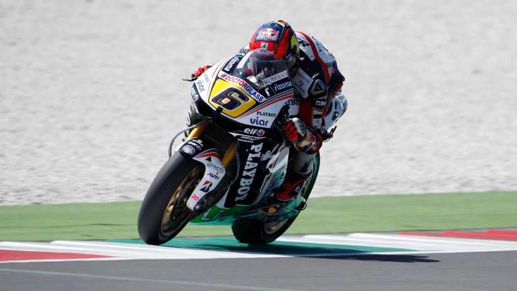 Stefan Bradl, LCR Honda MotoGP, Mugello Test