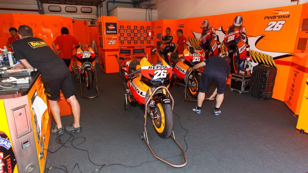 Dani Pedrosa, Repsol Honda Team, Mugello Test