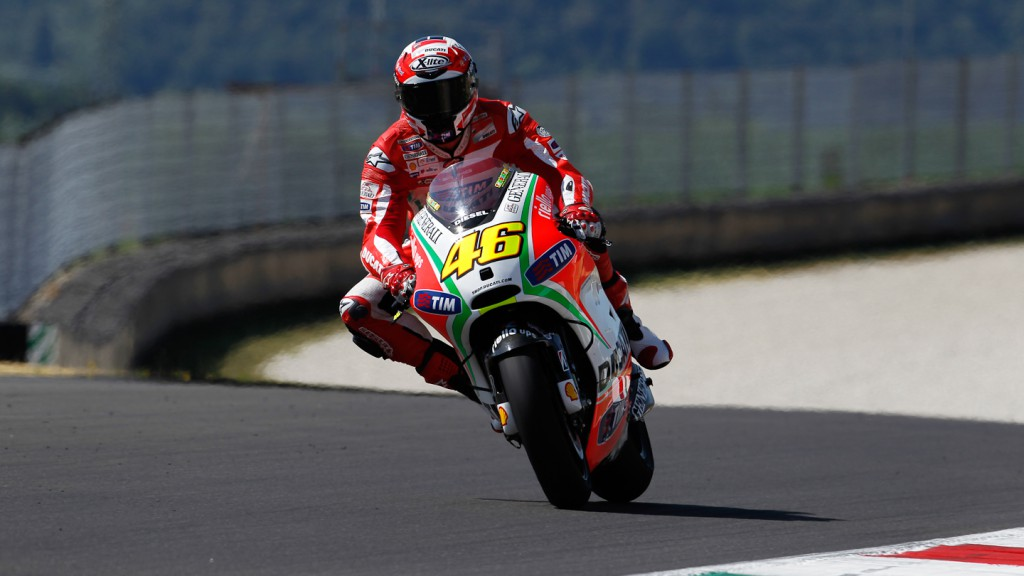 Franco Battaini, Ducati Team, Mugello Test