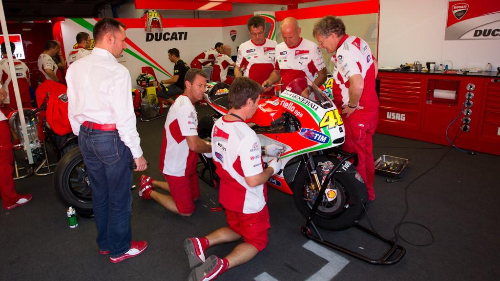 Valentnino Rossi, Ducati Team, Mugello Test