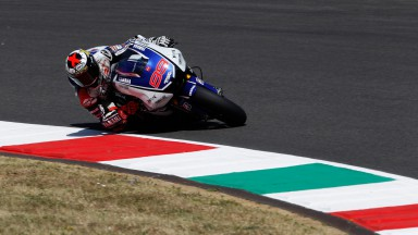Jorge Lorenzo, Yamaha Factory Racing, Mugello Test