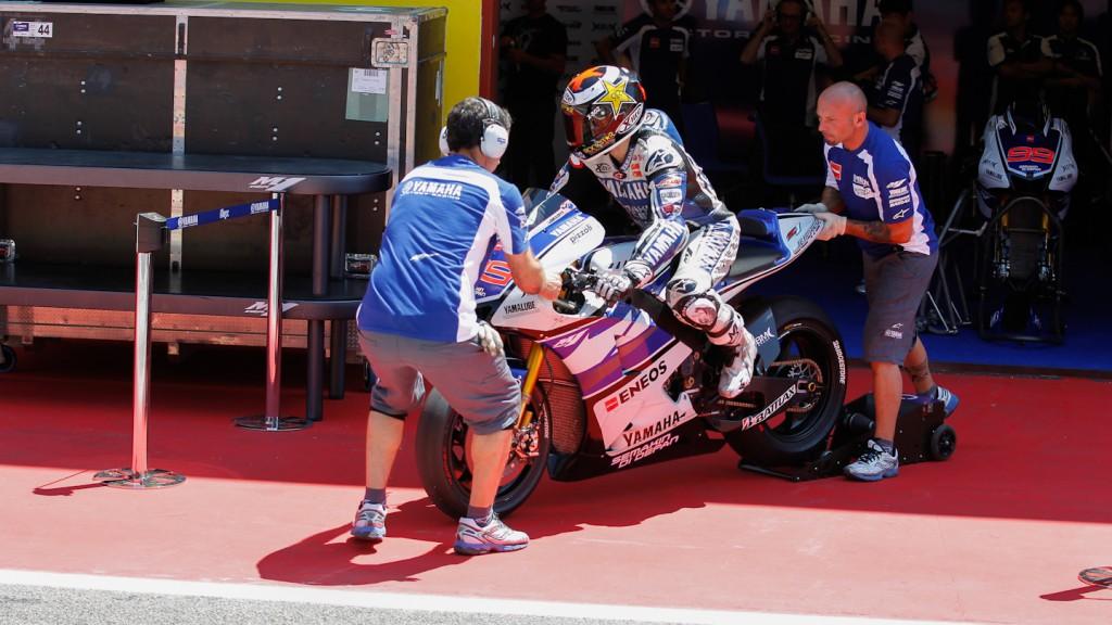 Jorge Lorenzo, Yamaha Factory Racing, Mugello Test