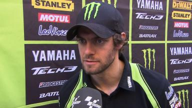 Good pace for Crutchlow