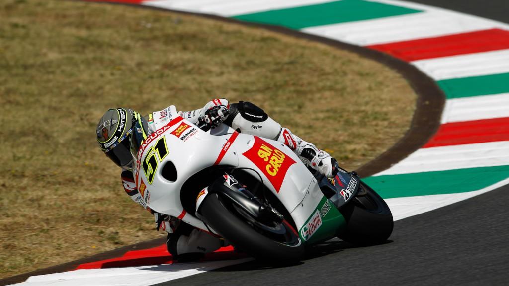 Michele Pirro, San Carlo Honda Gresini, Mugello Test