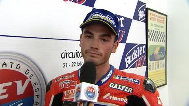 2012 - CEV - Albacete - Moto2 - Interview - Roman Ramos