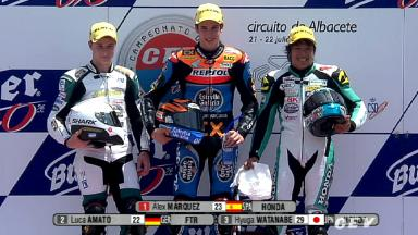 2012 - CEV - Albacete - Highlights - Moto3