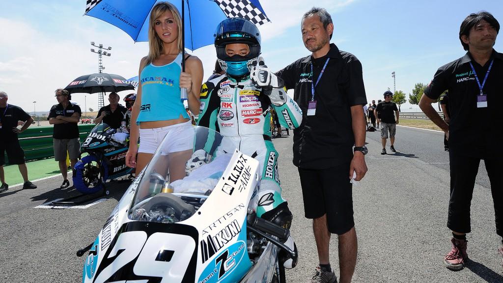 Hyuga Watanabe, P.U7C Harc Larrespor, CEV Albacete RAC