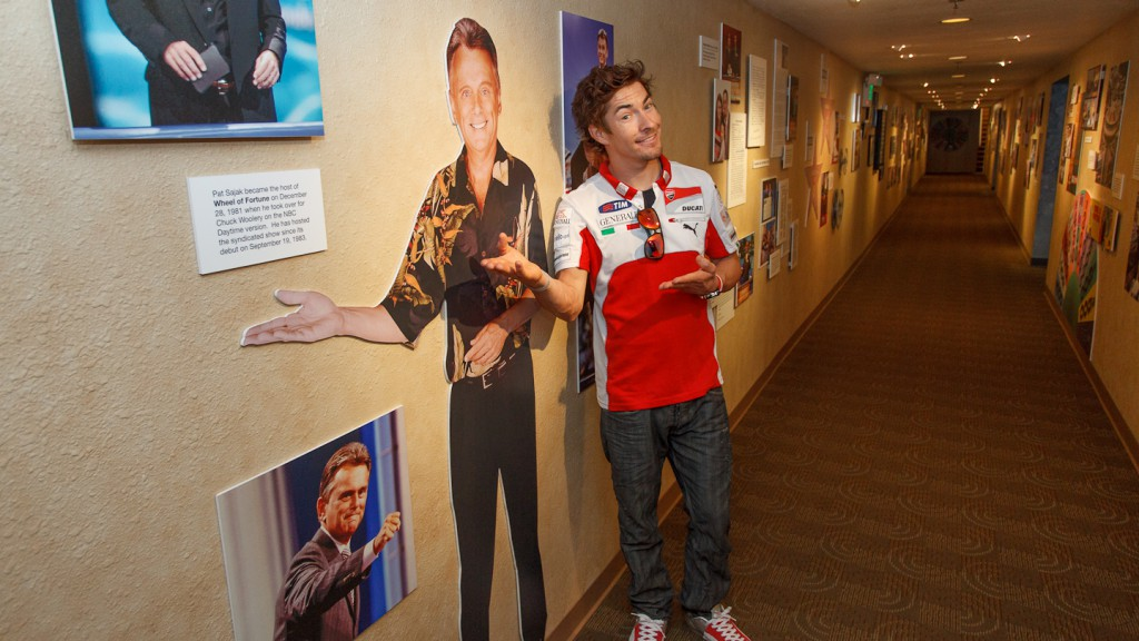 Nicky Hayden, Ducati Team - Sony Pictures Studios, Los Angeles